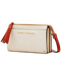 Dooney & Bourke Multicolor Lizard Embossed Leather Gingy Crossbody