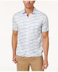 Tommy Bahama - Blue Men's Island Print Shirt for Men - Lyst