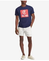 Polo Ralph Lauren - Blue Cp-93 Logo Graphic T-shirt, Created For Macy's for Men - Lyst