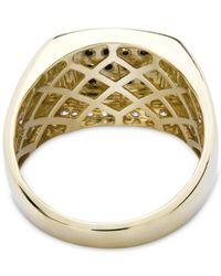 Macy's - Metallic Men's Diamond Ring (1/2 Ct. T.w.) In 10k Gold - Lyst