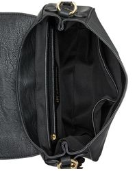 INC International Concepts | Black Madelynn Belt Small Saddle Bag | Lyst