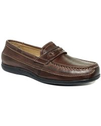 Dockers - Brown Shoes, Kingston Driver With Keeper Shoes for Men - Lyst