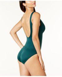 Miraclesuit - Purple Swimsuit, Escape Tummy-control One-piece - Lyst