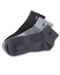 Polo Ralph Lauren | Gray Men's Socks, Athletic Quarter Men's Socks 3-pack for Men | Lyst