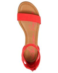 American Rag Red Keley Two-piece Sandals
