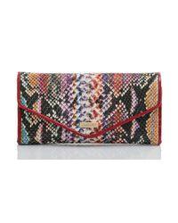 Brahmin Multicolor Veracruz Veronica Envelope Wallet
