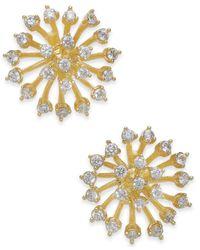 Kate Spade - Metallic Crystal Starburst Stud Earrings - Lyst