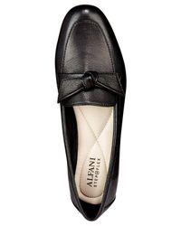Alfani - Black Women's Cass Pointed-toe Loafer Flats - Lyst