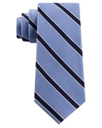 Tommy Hilfiger Blue Preppy Classic Stripe Tie for men