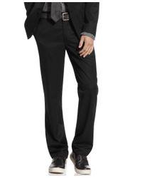 Kenneth Cole Reaction | Black Pants, Slim Fit Dress Pants for Men | Lyst