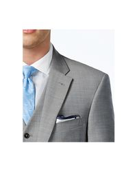 Tommy Hilfiger Gray Classic Fit Jacket Suit Separates for men