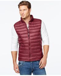 32 Degrees | Black Packable Down Vest for Men | Lyst