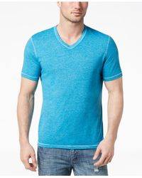 INC International Concepts - Blue Heathered T-shirt, Created For Macy's for Men - Lyst