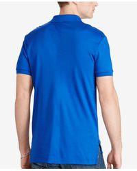 Polo Ralph Lauren - Blue Core Pima Soft-touch Polo for Men - Lyst