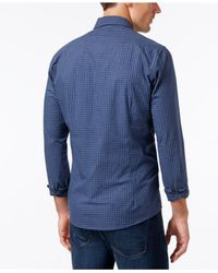 Barbour - Gray Country Gingham Button-down Shirt for Men - Lyst