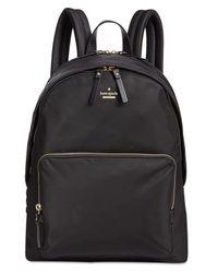 Kate Spade - Black 15-inch Medium Tech Laptop Backpack - Lyst