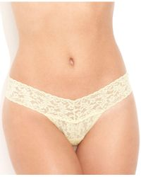 Hanky Panky Yellow Signature Lace Low Rise Thong 4911
