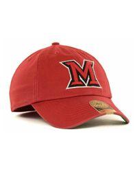 47 Brand - Miami (ohio) Redhawks Ncaa '47 Franchise Cap for Men - Lyst