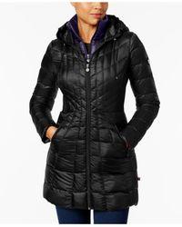 Bernardo - Multicolor Hooded Packable Puffer Coat - Lyst