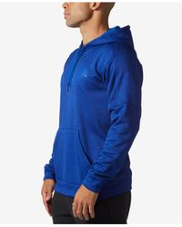 Adidas - Blue Team Issue Fleece Hoodie for Men - Lyst