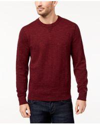 Tommy Hilfiger - Red Men's Jasper Sweater for Men - Lyst