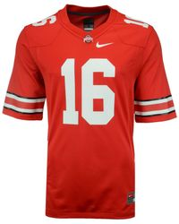 Nike Red Men's Ohio State Buckeyes Replica Football Jersey for men