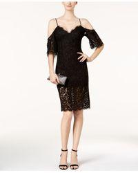 Bardot - Black Karlie Cold Shoulder Dress - 100% Exclusive - Lyst