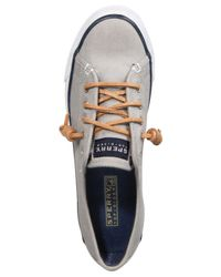 Sperry Top-Sider - Gray Seacoast Sneakers - Lyst