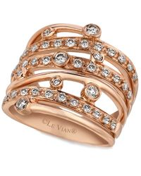 Le Vian | Pink Diamond Diamond Layer Ring (3/4 Ct. T.w.) In 14k Rose Gold | Lyst