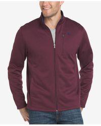 Izod - Purple Men's Advantage Performance Jacket for Men - Lyst