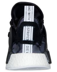 Adidas Originals Black Men's Nmd Runner Xr1 Casual Sneakers From Finish Line for men