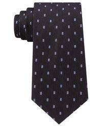 Michael Kors - Black Michael 3 Bar Dip Slim Tie for Men - Lyst