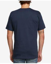 Volcom Blue Ultra Graphic-print T-shirt for men