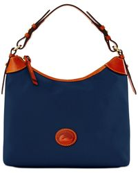 Dooney & Bourke Blue Nylon Large Erica
