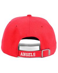 47 Brand Red Inductor Mvp Cap for men
