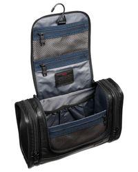 Tumi Black Alpha Hanging Travel Kit for men