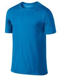 Nike Blue Men's Dri-fit 2.0 T-shirt for men