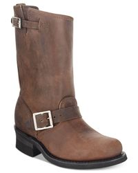 Frye - Brown Engineer Boots for Men - Lyst