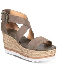 Marc Fisher Multicolor Zendra Wedge Sandals
