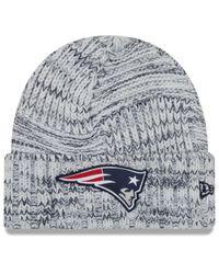 KTZ Multicolor New England Patriots On-field Knit Hat 2019