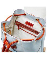 Dooney & Bourke - Gray Dallas Cowboys Pebble Murphy Backpack - Lyst