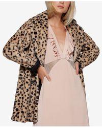Avec Les Filles - Pink Lace-insert Slip Dress - Lyst
