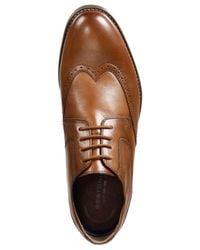 Bostonian - Brown Men's Yorkton Wingtip Oxfords for Men - Lyst