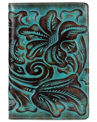 Patricia Nash - Multicolor Turquoise-tooled Vinci Refillable Notebook - Lyst