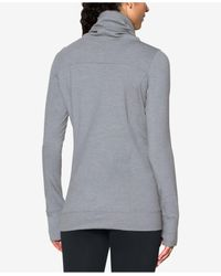 Under Armour Gray Featherweight Fleece Sweatshirt