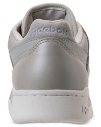 Reebok - Gray Workout Plus Mcc Casual Sneakers From Finish Line for Men - Lyst