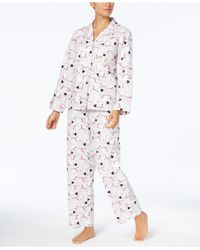 175547f5aa Charter Club. Women s Printed Cotton Flannel Pajama Set