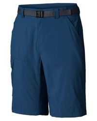 "Columbia Blue Big And Tall Battle Ridge Ii Short 11"" for men"