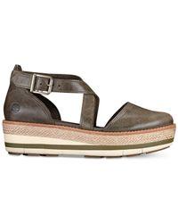 Timberland Brown Emerson Platform Sandals