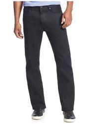 Sean John Black Flap-pocket Hamilton Jeans for men